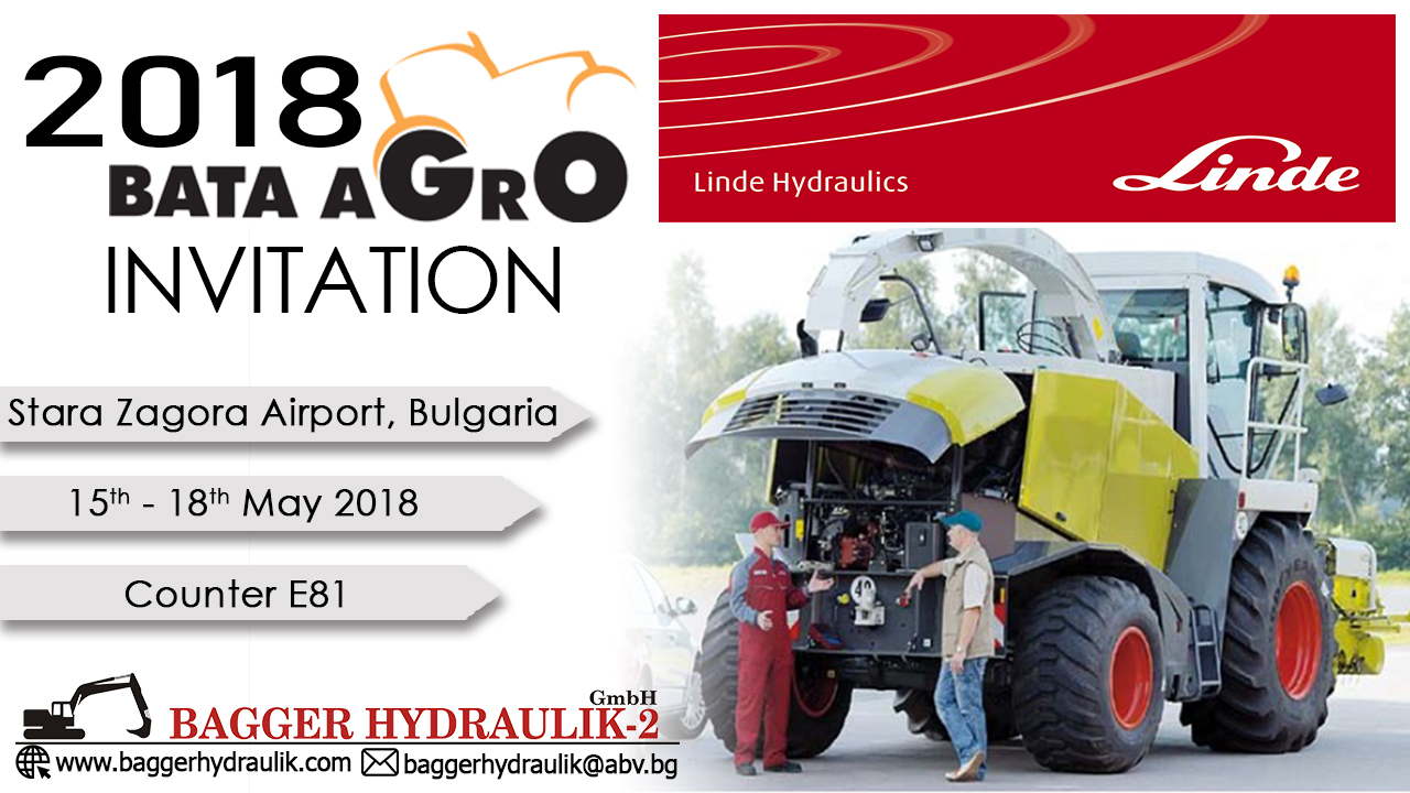 International Agricultural Fair BATA AGRO 2018